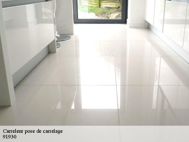Carreleur pose de carrelage  91930